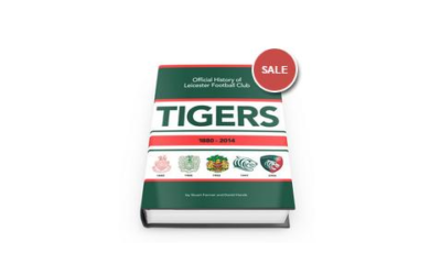 There is still time to purchase a copy of the Tigers History Book at this Discounted Offer Price – While Stocks Last!
