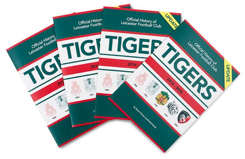 Exciting News!!! A Season Update is now included inside The Official Tigers History Book